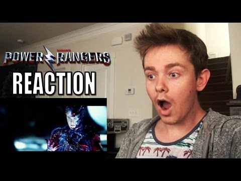 Power Rangers (2017 Movie) Official Teaser Trailer Reaction