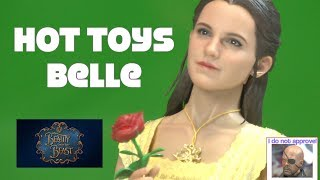 Hot Toys MMS422 Beauty & The Beast Belle 1/6 figure Disney review Unboxing Danoby2