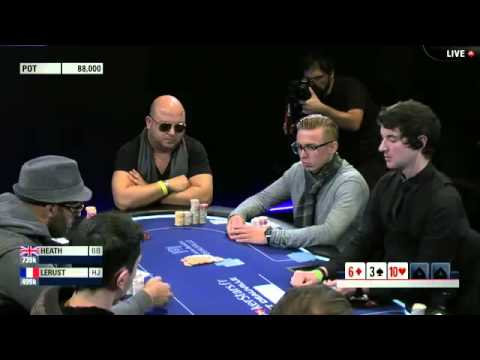 EPT10 Deauville 2014. Main Event, Day4 - Online Poker