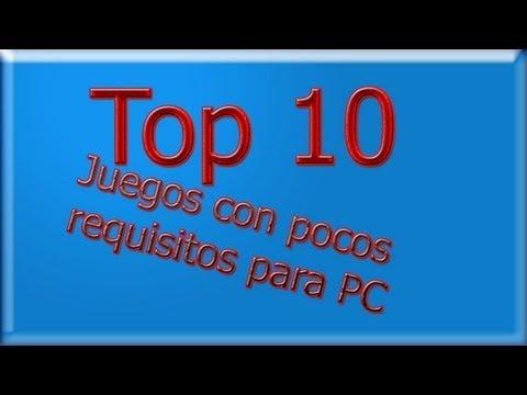 TOP 10!!! juegos con pocos requisitos para pc
