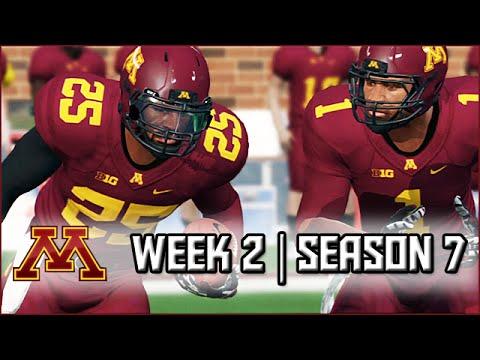 NCAA Football 14 Dynasty: Week 2 vs Cincinnati (Season 7)