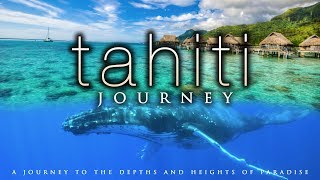 4K TAHITI JOURNEY (+ Calming Music)   Whale & Nature Scenes in UHD by Nature Relaxation™