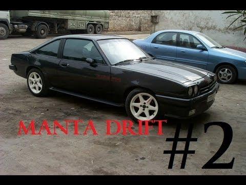 Black Opel Manta Drift Ken Block Style Youtube