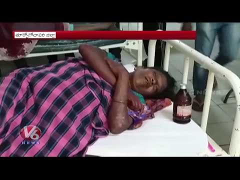Road Accident In East Godavari Dist | 6 Died, 8 Injured As Tipper Lorry Hits Auto | V6 News