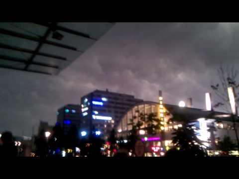 Thunderstorm Ukkonen in Helsinki 8.8