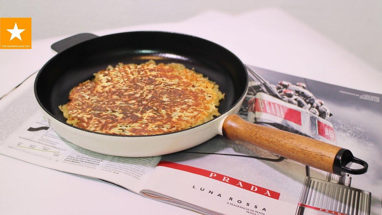 Хашбраун в духовке рецепт