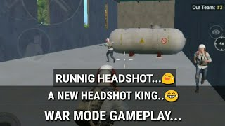 Funny War Mode Game Play !! Pubg Mobile !! HeadShot King...
