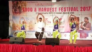 Gange Dance Performance at sohar food festival 2017