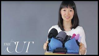 Marie Kondo Folds a Perfect Underwear Drawer