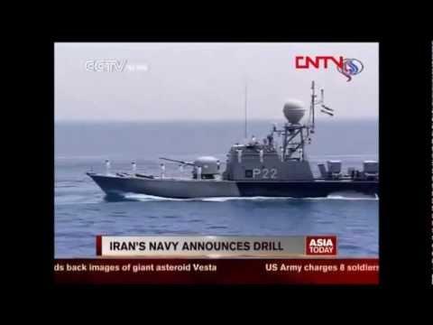 Iran navy starts 10 day wargame in Strait of Hormuz