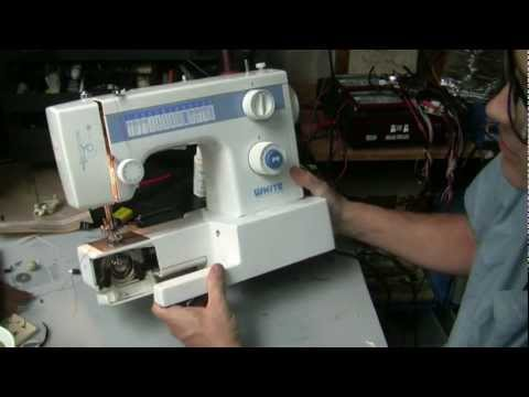 white sewing machine model 1418 review
