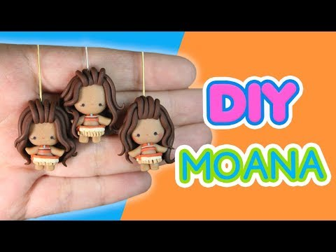 DIY MOANA CHIBI - Polymer Clay Tutorial