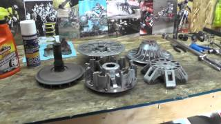 Servicing Maintain Canam Clutches