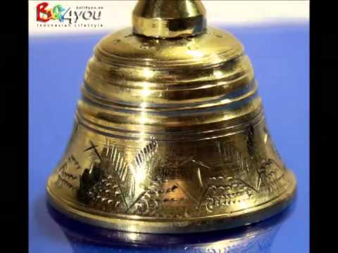 Bali Priesterglocke Space Clearing Bell