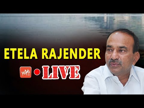Etela Rajender Press Meet LIVE  | KCR | KTR | TRS Party Meeting | Telangana  LIVE |  YOYO TV Channel