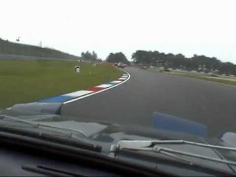 Lamborghini Islero on the TT-circuit of Assen. Video