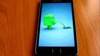 Boot Animation Galaxy S2 - Android pee Apple
