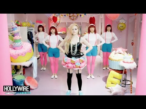 Avril Lavigne Releases Offensive 'hello Kitty' Music Video! video