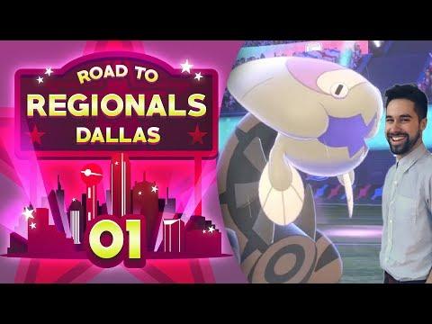 DRAGADRACO! WORLD CHAMP INTRO! Road to Regionals - Dallas! Pokemon Sword and Shield VGC