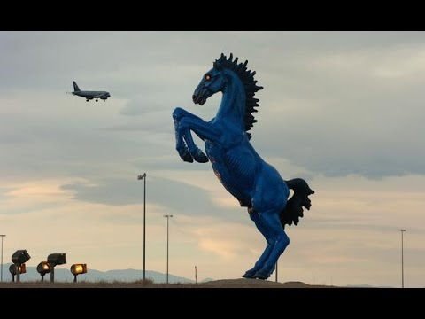 Denver Airport Artwork and Pale Horse explained... and the Bank of America