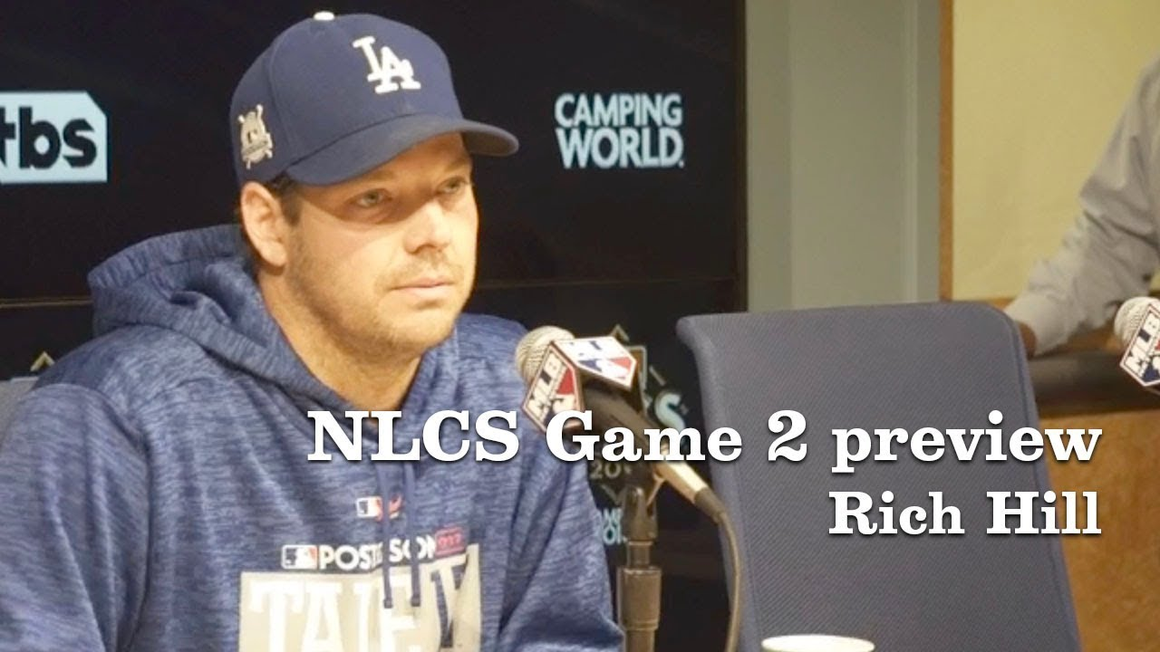 Rich Hill on Corey Seager and game 2 | Los Angeles Times