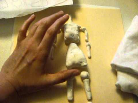 How to Make a Ball Jointed Doll Making a Ball Jointed Doll