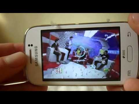 Samsung Galaxy Y Duos TV GT-S6313 Videos - 2