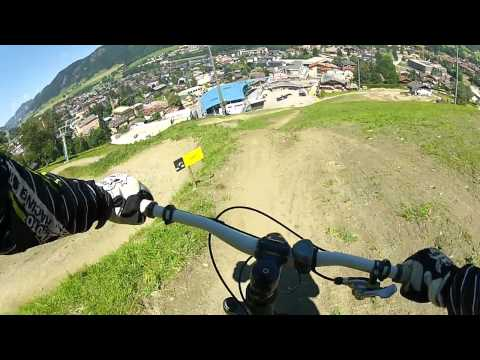 Downhill Crash Schladming Bike Park Planai 2012