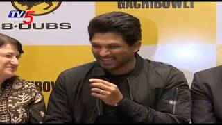 Stylish Star Allu Arjun Inaugurates B Dubs At Gachibowli