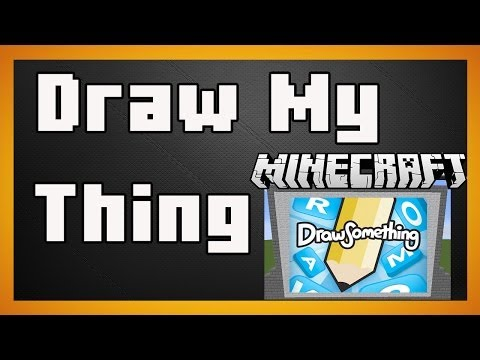Minecraft Plugin - Draw My Thing - A guessing game with pictures!