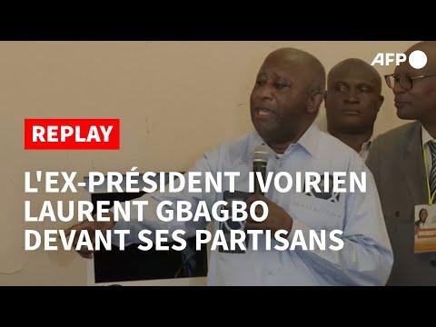 """REPLAY - Laurent Gbagbo : """"Je suis heureux de retrouver la Côte d'Ivoire et l'Afrique"""""""