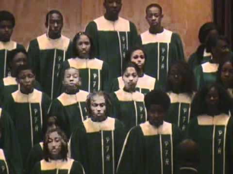 Pine Forge Academy Choir 1994 - In Bright Mansions Above