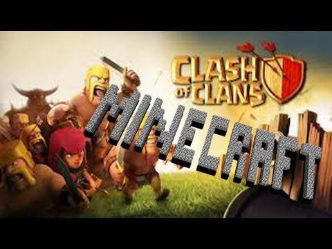 Clash Of Clans In Minecraft (Server) *NEW*