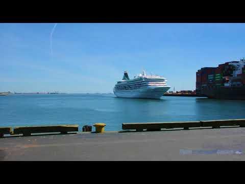 At Flynn Cruiseport Boston - Phoenix Reisen Artania Maiden Call