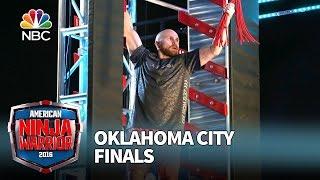 Grant Clinton at the Oklahoma City Finals - American Ninja Warrior 2016