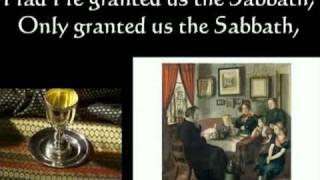 Dayenu: Passover Song with lyrics