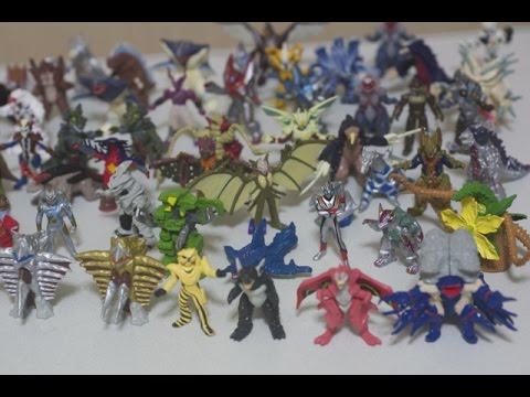 ウルトラマンティガ ウルトラモンスター 超全集 ティガtoダイナ レビュー Ultraman Tiga Monster Complete Figure video