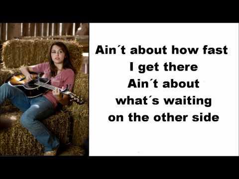 Lyrics The Climb  Miley Cyrus