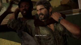 The Last of Us™ Remastered PS4 Walkthrough Part 15 - Financial District, Henry and Sam /w Commentary