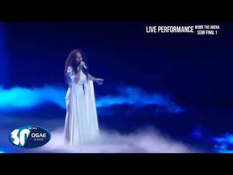 GREECE - Yianna Terzi - Live Performance - Semi Final 1- Eurovision 2018- OGAE Greece