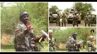 Shekau appears in new VIDEO, claims victory in Maiduguri attack