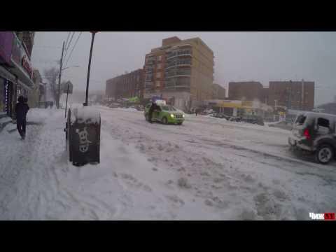 Big time snow NYC