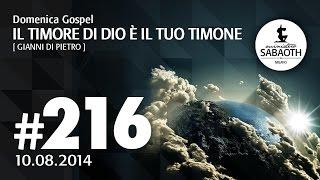 Domenica Gospel @ Milano | Il Timore di Dio, il tuo timone - Gianni Di Pietro |  10.08.2014