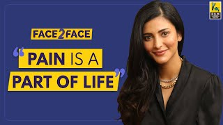 Shruti Haasan Interview With Baradwaj Rangan l Face 2 Face