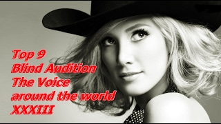 Download Lagu Top 9 Blind Audition (The Voice around the world XXXIII) Gratis STAFABAND