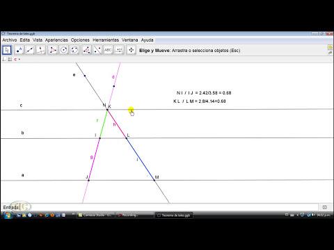 Teorema de Thales.wmv