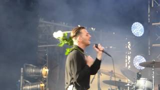 Hurts - Wings (pt. 1) - Lastochka Fest - Moscow - 09.07.16