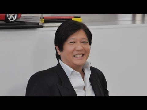 Sen. Bongbong Marcos - Courtesy of TV 5 - Cocktales Part III (1 June 2012)