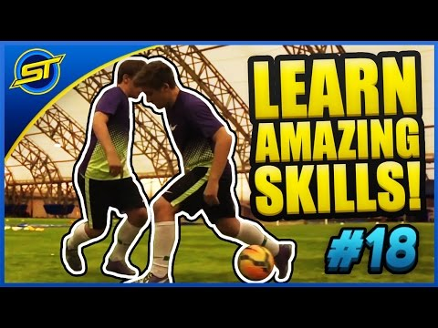 Football Super PANNA Skill Tutorial ★ Ronaldo/Neymar Skills