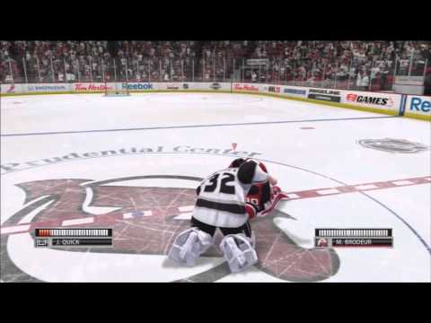 NHL 13 Demo Goalie Mode